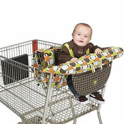 Jeep 2-in-1 Shopping Cart Cover High Chair Cover, High Chair