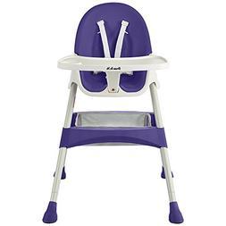 Dream On Me Jackson High Chair - Plum Purple