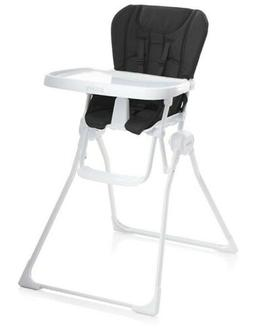 JOOVY Nook High Chair, Black, Fold Up Chair
