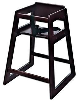 "Koala Kare KB800-29 Deluxe Wood High Chair, Mohogany, 21"" He"