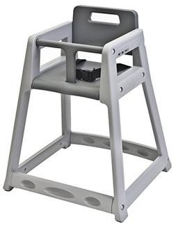 "Koala Kare KB850-01 Diner Plastic High Chair, Grey, 23"" Heig"