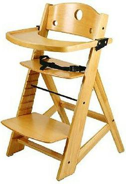 Keekaroo Adjustable Height Right Wood High Chair