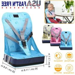 Kids Baby High Chair Dining Feeding Chair Booster Seat Folda