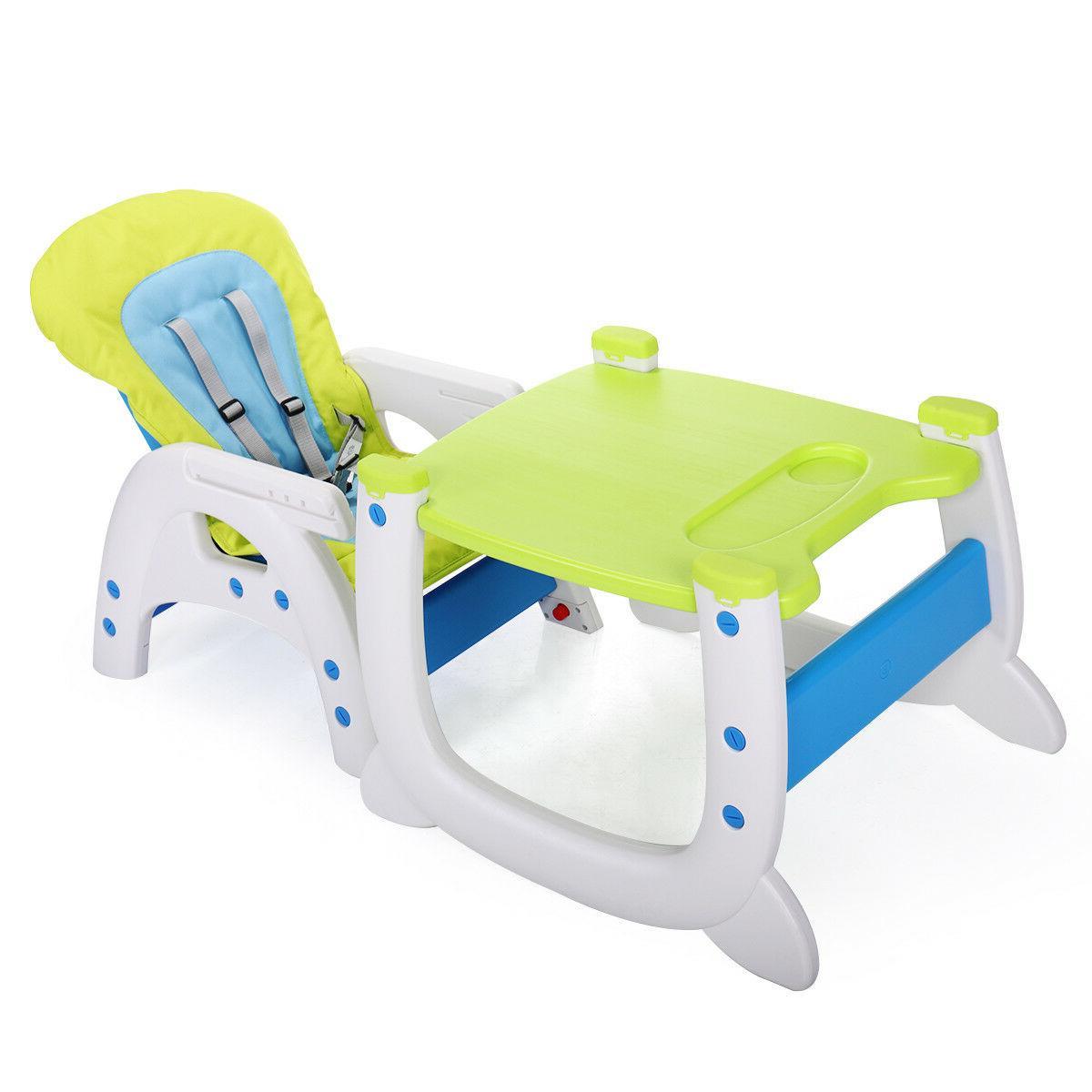 3 High Booster Toddler Blue-green