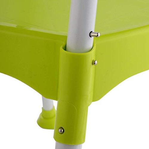 COSTWAY Baby Convertible Table Booster Toddler Feeding Highchair,