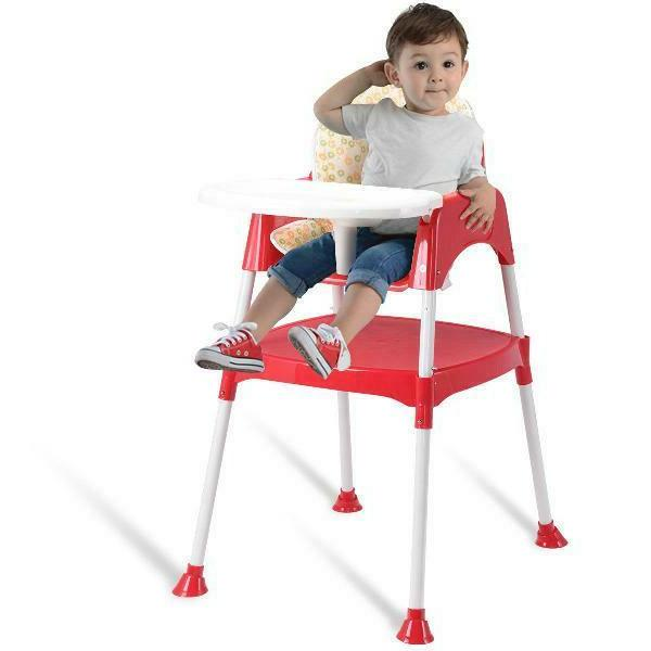Costway High Seat Booster Toddler Play Tray