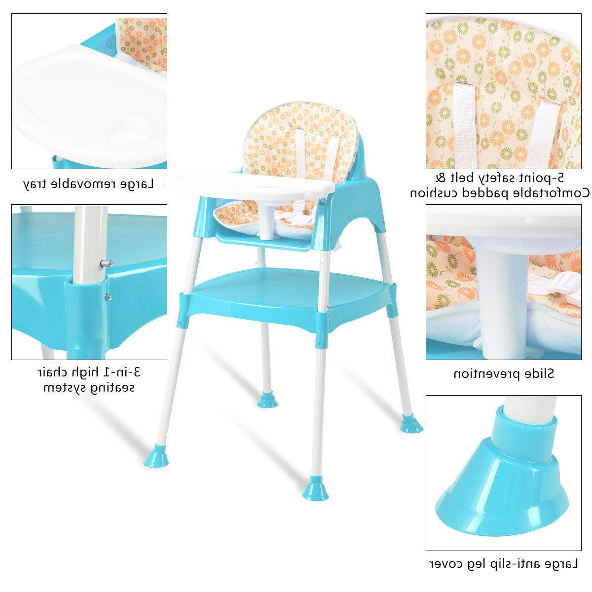 3 in 1 High Chair Seat 3 Colors