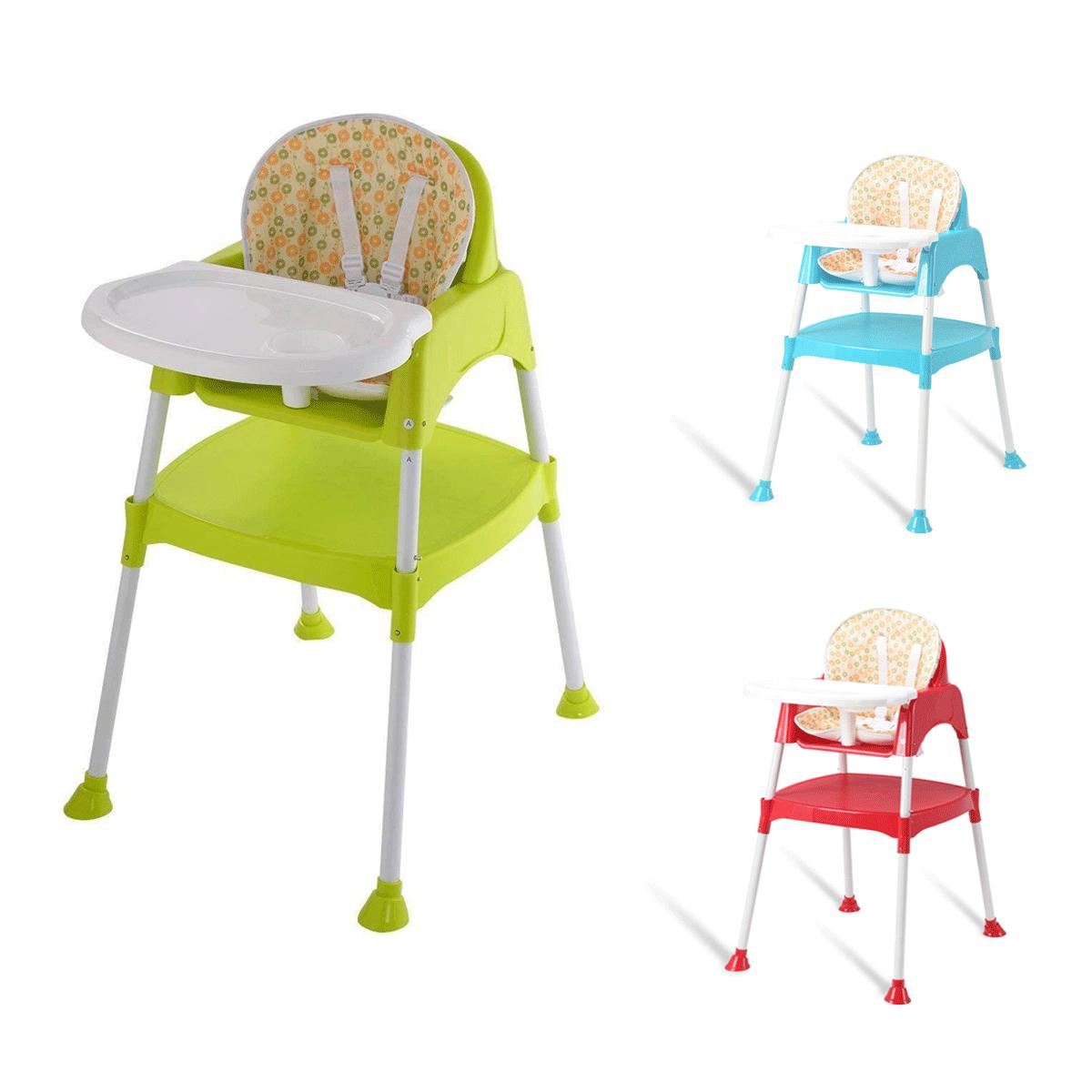 3 in 1 baby high chair convertible