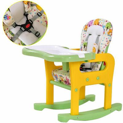 3 in High Convertible Table Booster Feeding