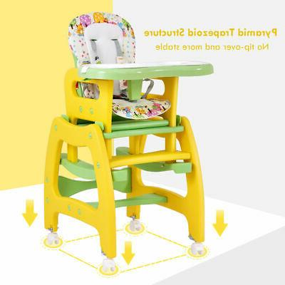 3 High Play Table Booster Toddler Feeding Tray