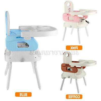 3-In-1 Chair, Feeding Adjustable New