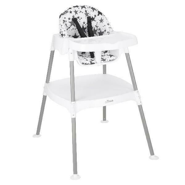 Baby Convertible High Chair 4 in 1 Feeder Washable Pad Toddl