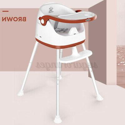 4 in High Convertible Play Table Seat Feeding Tray