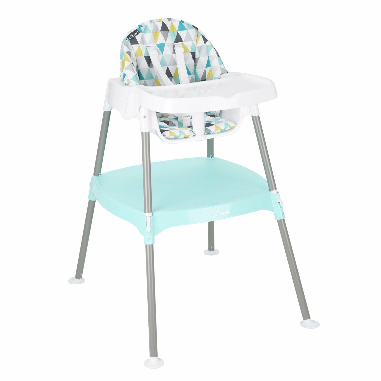 Evenflo 4-in-1 Eat & Grow Convertible High Chair Prism Trian