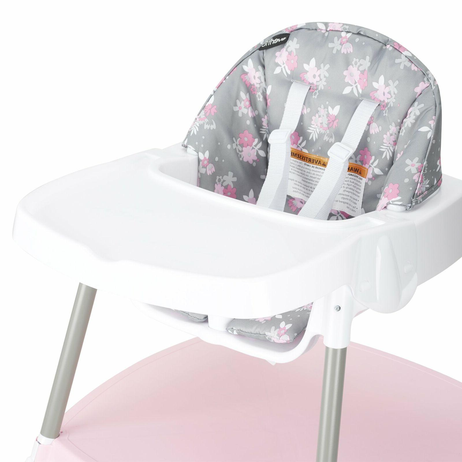 Evenflo 4-in-1 Eat & Grow Convertible HighChair Poppy Floral