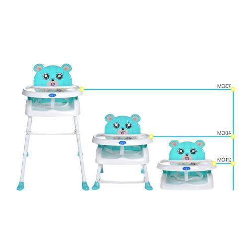 Infant High Chair Toddler Eating Feeding Seat Folding Adjustable