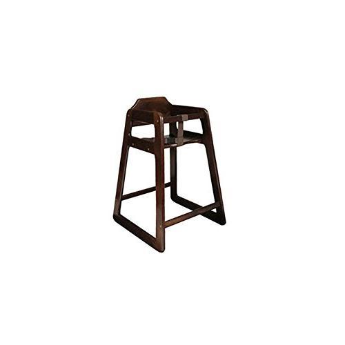 5 mahogany finish oak chair