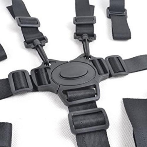 5 Point Kids Safety Belt Strap Chair Car Seat US