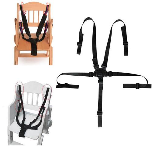 5 point baby kids safety chair harness