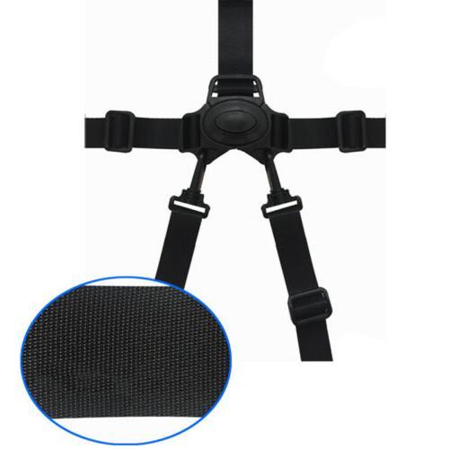 5-Point Baby Belt Stroller High Pram