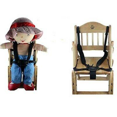 5 point harness stroller high chair pram