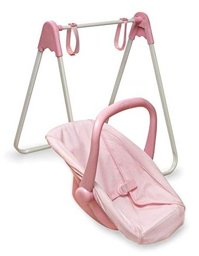 Badger Swing and Pink Gingham