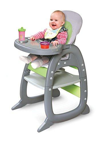 Badger Basket II Baby Chair Playtable Conversion, Gray/Green