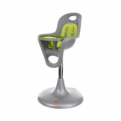 Boon Flair Pedestal High Chair,Gray/Green