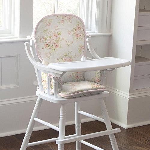 Carousel Designs Shabby Chenille High Chair Pad