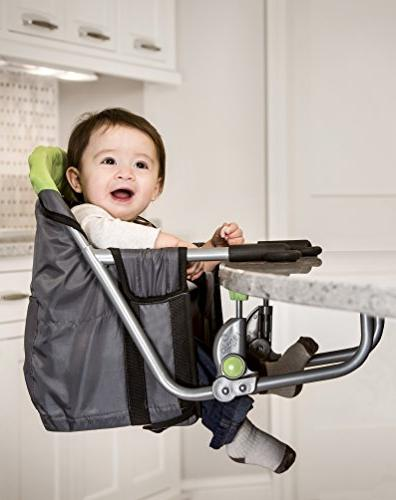 Regalo Easy Diner Portable Hook on High Chair, Fits tables 1