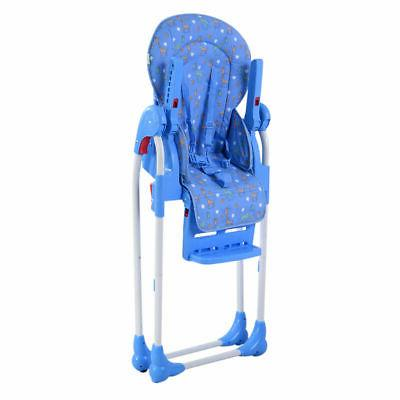 Adjustable Baby High Infant Seat Blue