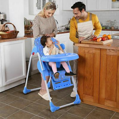 Adjustable High Infant Seat Folding