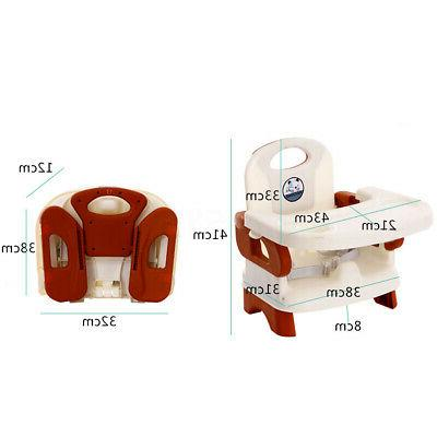 Adjustable Infant Toddler Folding Seat Safety