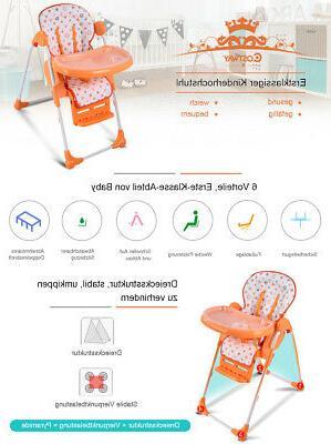 Adjustable Baby Infant Toddler Feeding Seat