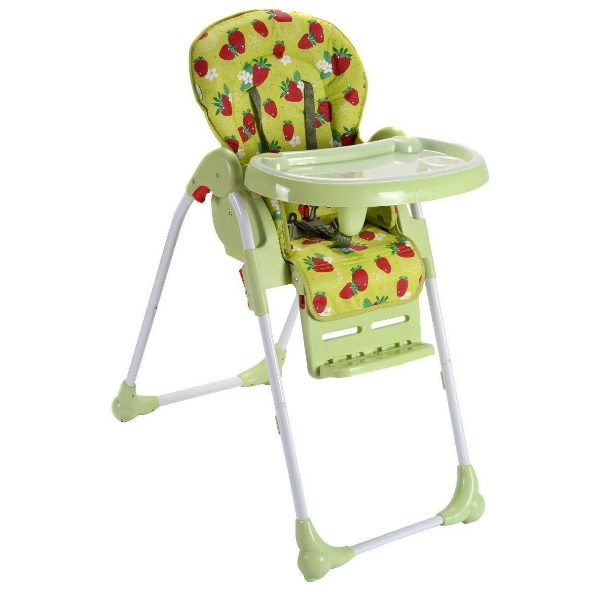 Costzon Adjustable Baby High Chair Infant Toddler Feeding Bo