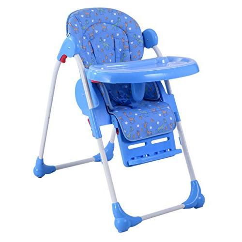 Adjustable Infant Feeding Booster Seat Folding Purple