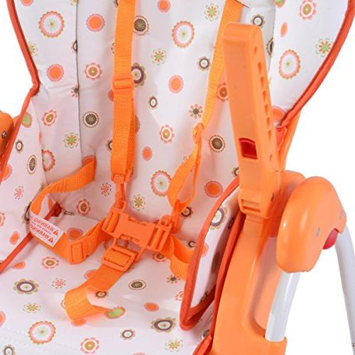 Costzon Adjustable High Chair Infant Booster Folding