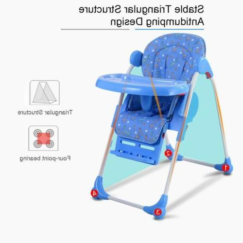 Adjustable Qualited Baby High Toddler Feeding