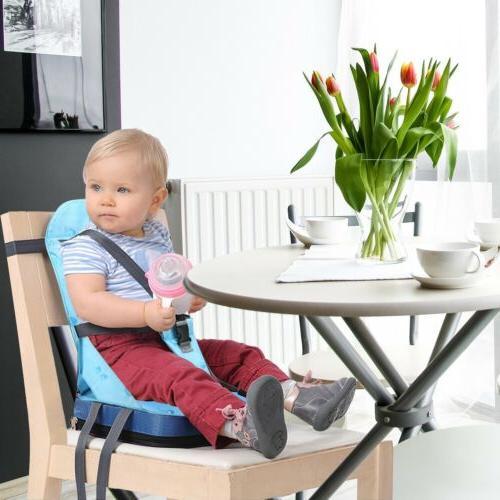 Portable Baby Feeding High Seat Cover Harness Cushion