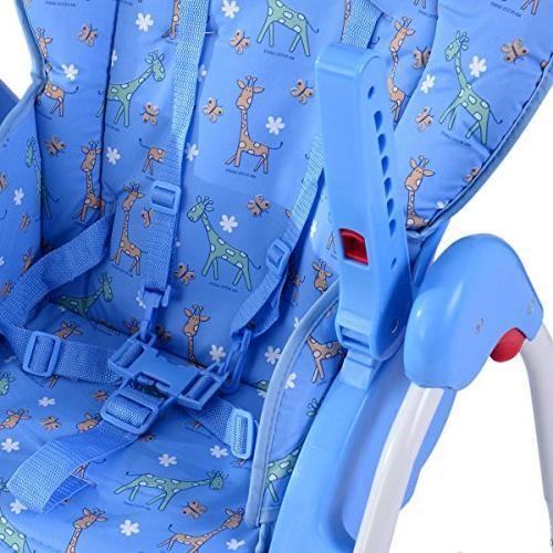 Adjustable High Feeding Seat - Blue SpiritOne