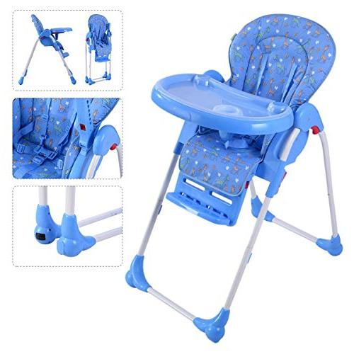 Adjustable Baby Infant Toddler High Chair Feeding