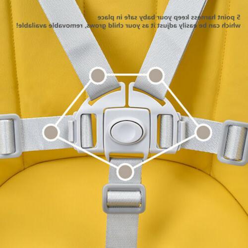 2 in High Baby Convertible Feeding Highchair Cushion