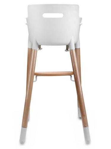 Adjustable Wooden High Chair Baby