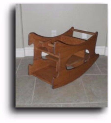 Amish in 1 High Chair Baby Woodworking Plans