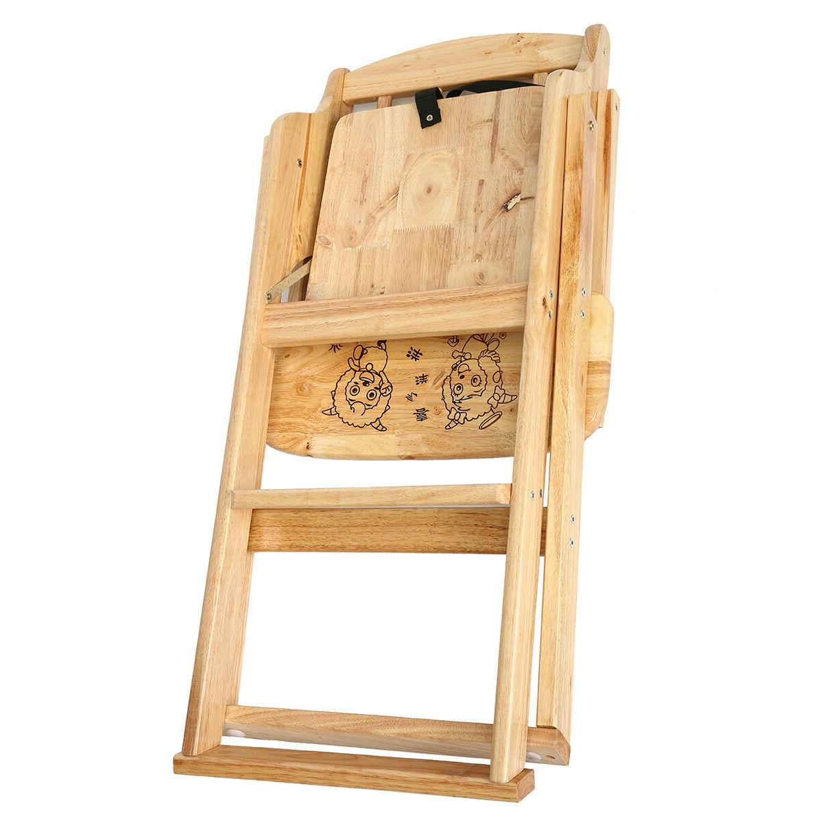 Asewin Wooden High with Oak Wood Chair Infant To