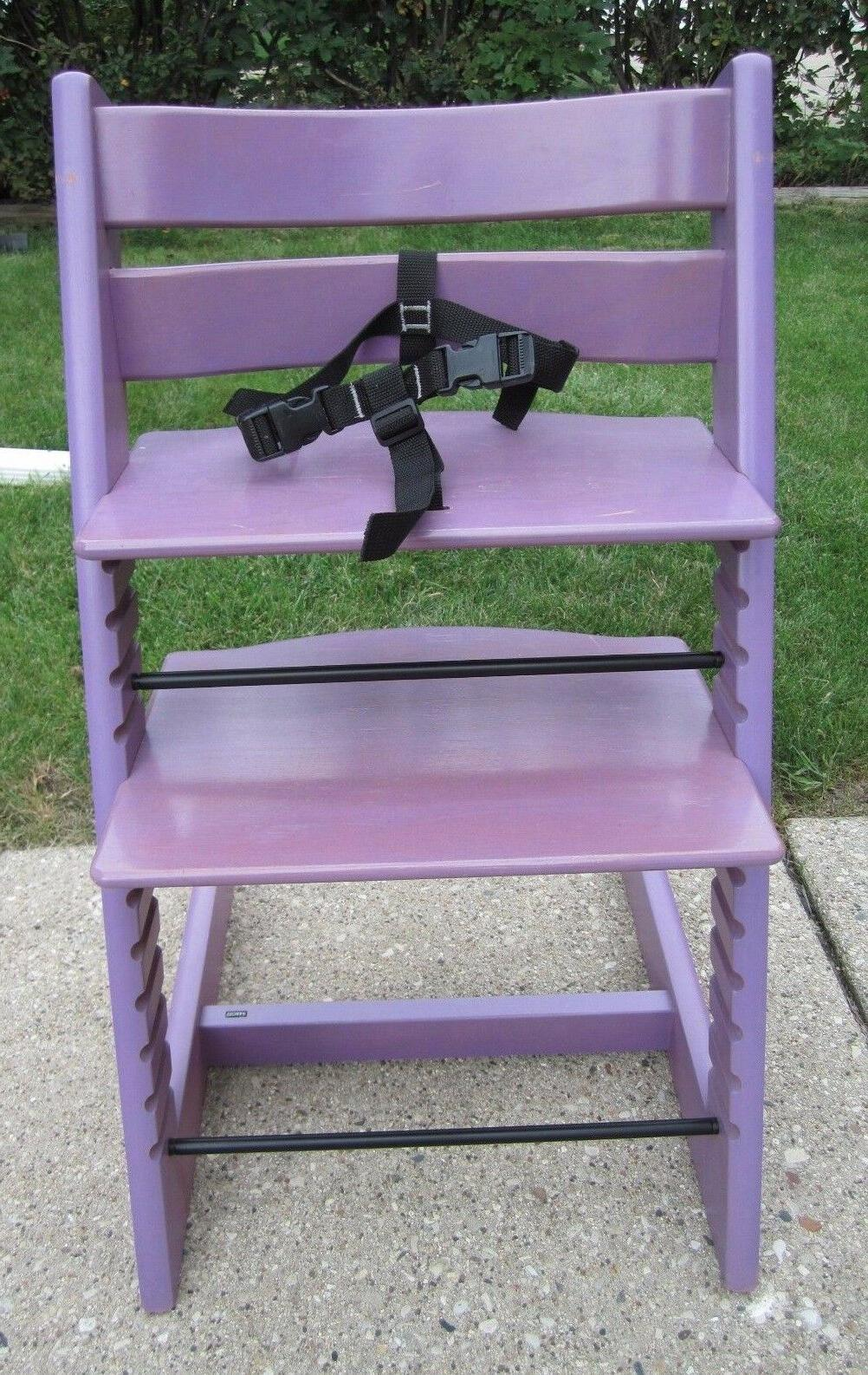 Authentic Trapp High Chair~Purple/Lavender