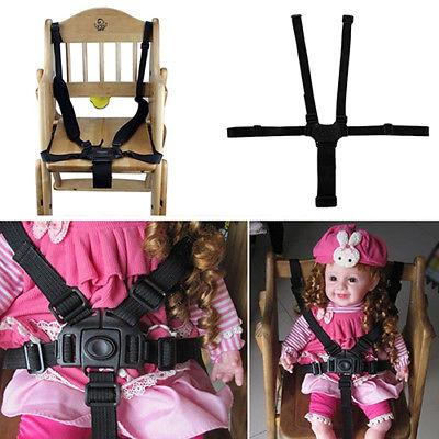 baby 5 point safety harness belt seat