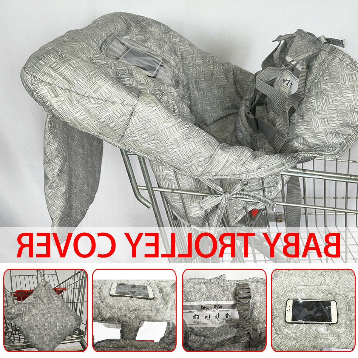 baby child kid shopping trolley cart cover