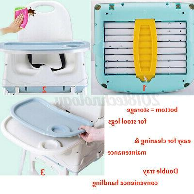 Baby Adjustable Feeding Booster Table