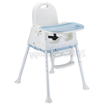 Baby Chair 3-In-1 Adjustable Dining Booster Table Seat